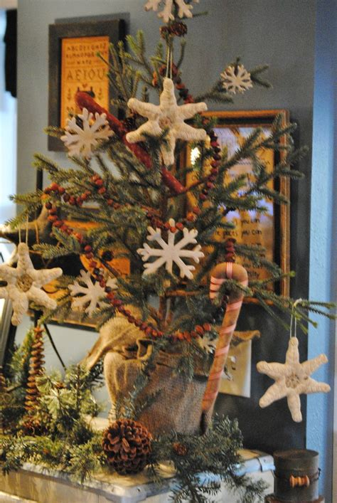 primitive christmas tree christmas pinterest trees