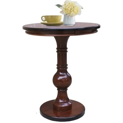 round table phone american style solid wood side round table european style