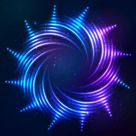 Shining Bright Es abstract bright shining light circle vector 04