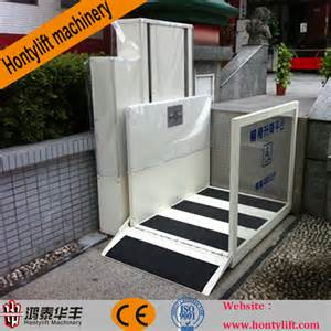 Wheelchair Stair Lifts by Ce Wheelchair Stair Lift Hydraulic Lifting Platform Buy