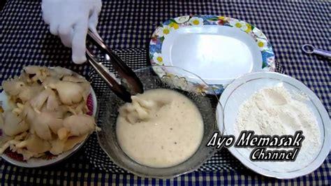 cara membuat donat kentang krispi resep dan cara membuat jamur goreng tepung kremes jamur