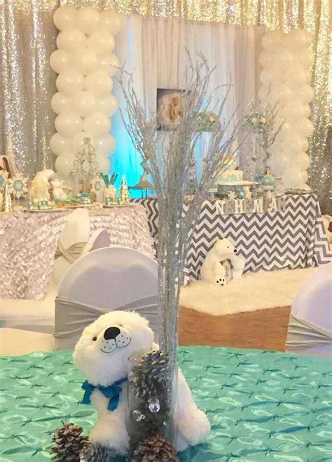Polar Decorations by Winter And Polar Bears Birthday Ideas