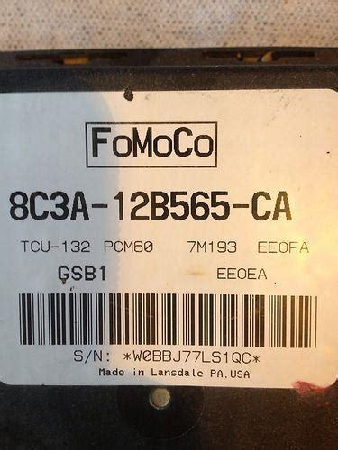 sell  ford     diesel tcm transmission