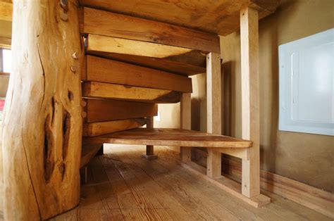 build  wooden spiral staircase  staircase gallery