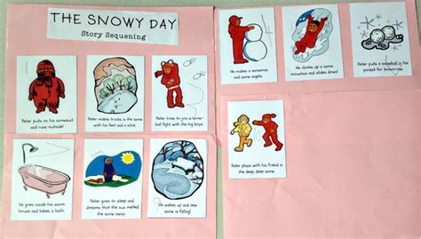 day story the snowy day happyplaywonder