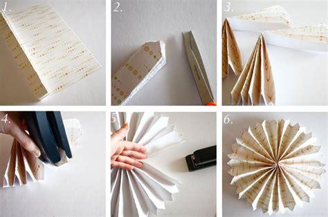 How To Make Paper Accordion - festa painel de flores de papel segredos da vov 243