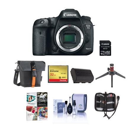 canon eos 7d mark ii dslr camera body with wifi adapter
