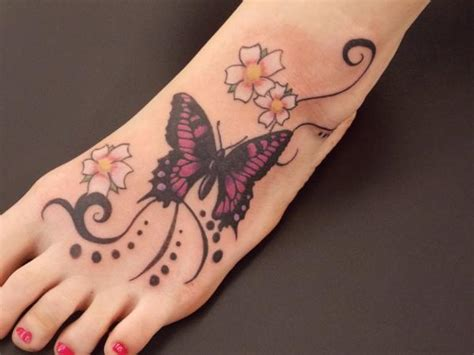 Types Of Butterfly Tattoos Picture Ideas Meaning Butterfly Tattoos Designs On Foot