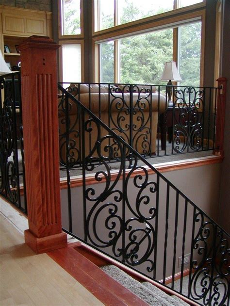 Custom Interior Railings by 10 Images About Interior Iron Railings On