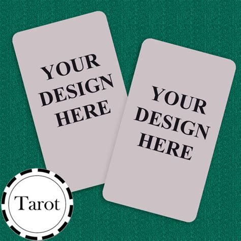 tarot card size template tarot size custom cards blank cards custom color