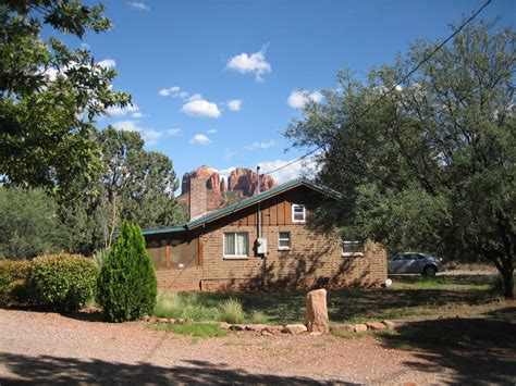 Sedona Az Cabin Rentals by Sedona Vacation Rental Vrbo 247649 1 Br Country