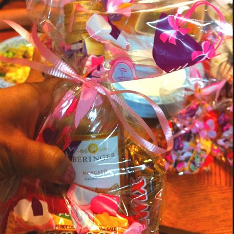 adult christmas goodie bags ideas mini moscato bottles in an goodie bag or any other of mini liquor bottle
