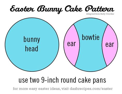 bunny cake template how to make an easter bunny cake