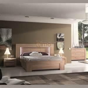 chambre compl 232 te contemporaine wagram bois et verre
