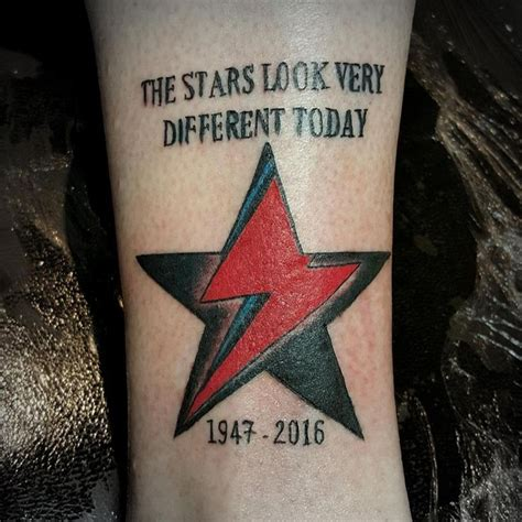 aladdin sane tattoo 262 best david bowie tattoos images on david