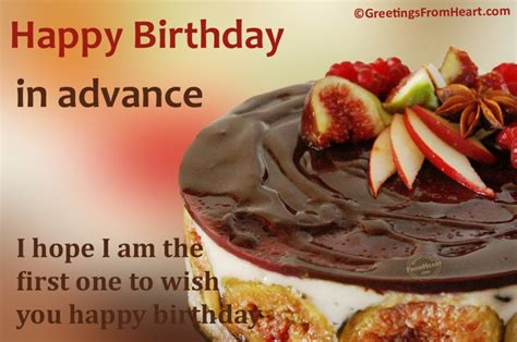Happy Birthday Wishes To The One You I Hope I Am The First One To Wish You Happy Birthday