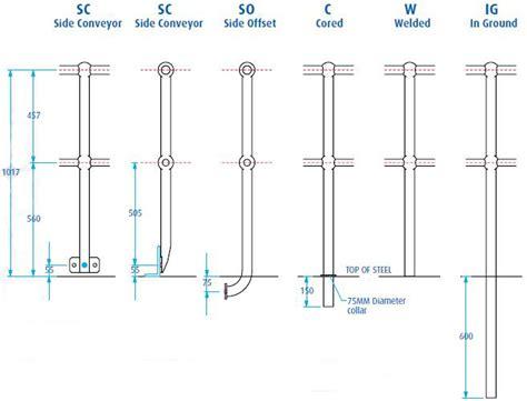 Handrail Stanchion Handrail Amp Stanchion Components