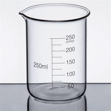 Breaker Glass 250 Ml Libbey 56805 Chemistry Bar 8 5 Oz 250 Ml Beaker Glass
