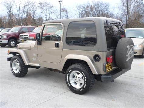 Jeeps For Sale Cincinnati Ohio 2004 Jeep Wrangler For Sale In Cincinnati Oh
