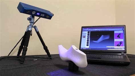 shoe scanner compact 3d scanner for shoe makers blue led technology