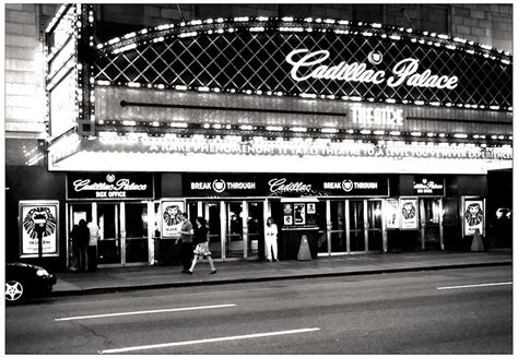 Cadillac Palace Theatre Parking by Now And Then April 2012