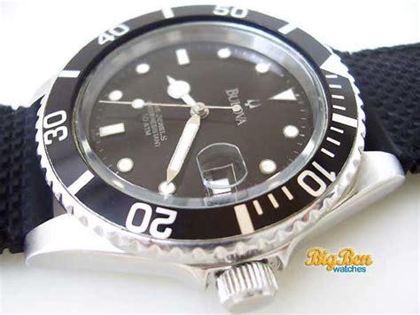 bulova dive bulova diver 10 atm automatic date by big ben watches