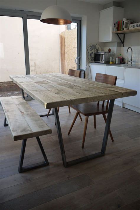 25 best ideas about industrial dining tables on