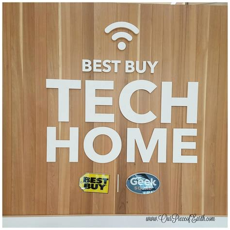 best buy tech home at the mall of america featuring