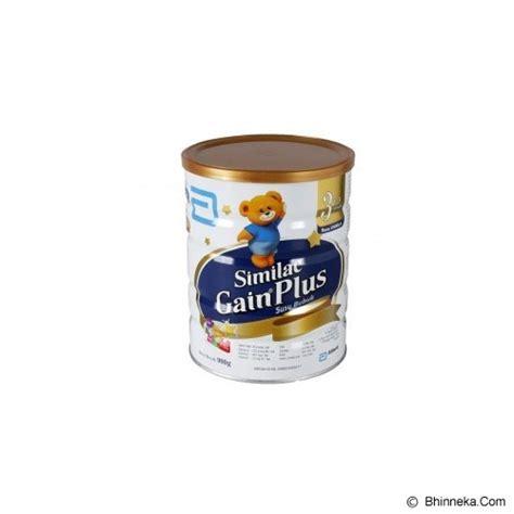 jual produk kebutuhan makanan dan formula bayi dan anak similac gain plus vanilla usia 1 3