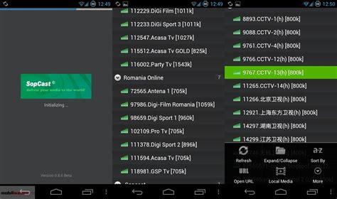 sopcast for android dos aplicaciones para ver el f 250 tbol desde android