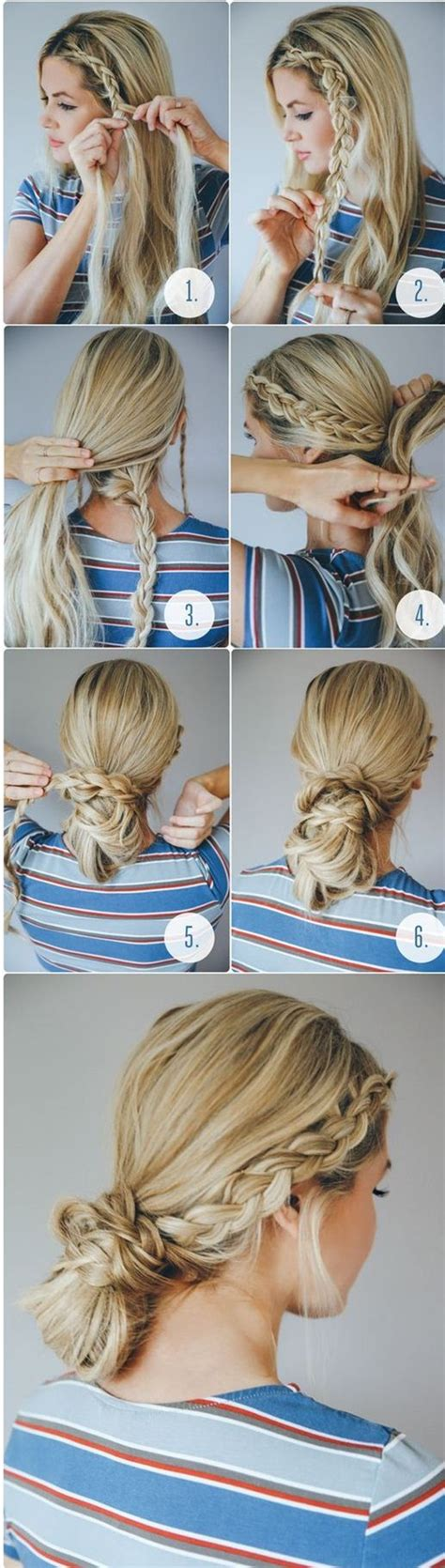 easy to do school hairstyles for hair 40 easy hairstyles for schools to try in 2016