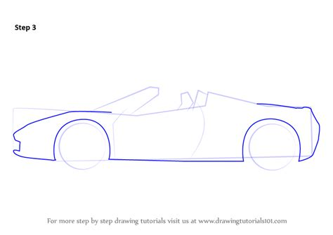 how to draw sports car draw step by step learn how to draw a sports cars step by step