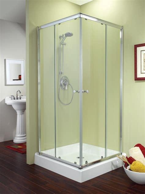 36 Shower Door by Fleurco Banyo Amalfi Square 36 Quot X 36 Quot Frameless Corner