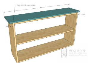 plywood bookshelf plans plans free