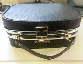 black vintage retro constellation vanity overnight travel