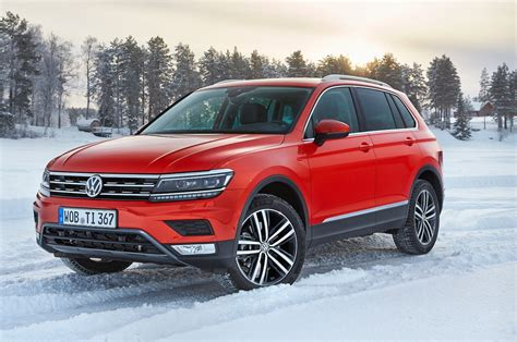 vw volkswagen 2017 2017 volkswagen tiguan euro spec first drive review