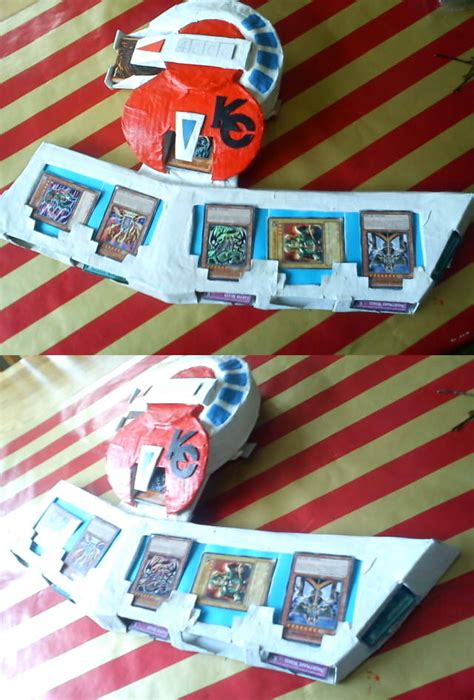 How To Make A Duel Disk Out Of Paper - my duel disk by mapleloveli on deviantart