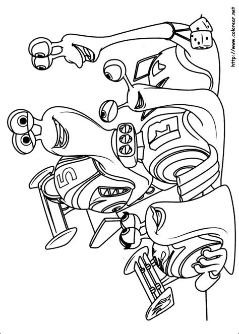 turbo fast coloring coloring pages