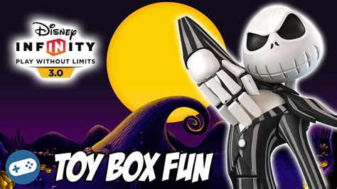 disney infinity skellington gameplay disney infinity 3 0 box nightmare before