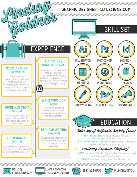 Creative Resume Sles Graphic Design 30 Exles Of Creative Graphic Design Resumes Infographics