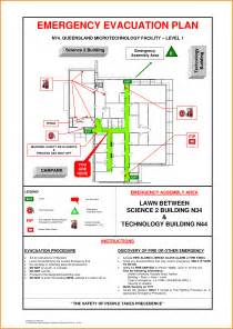 emergency evacuation plan template safety evacuation plan sle evacuation floor plan