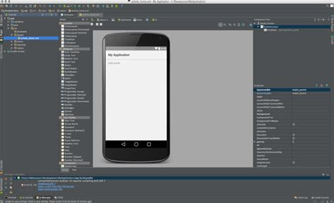 android studio layout name native android prototypes with android studio introduction