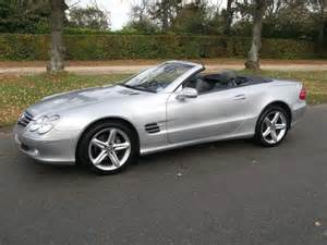 Used Mercedes Convertible Used Mercedes 2003 Silver Paint Petrol Class Sl 350