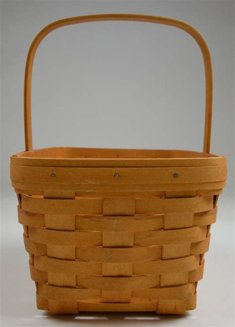 longaberger basket values longaberger 2002 spring basket