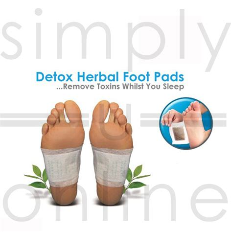 Detox Su Foot Pads by Detox Cleansing Foot Pads Patches Remove Toxins Aids