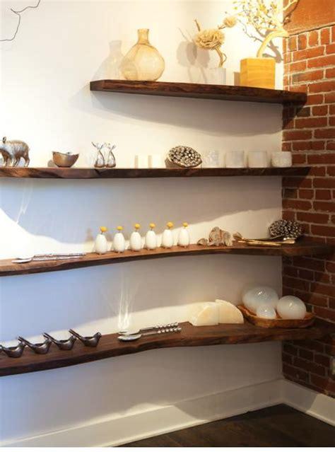 mensole rustiche mensole da parete in legno massello per libreria xlab