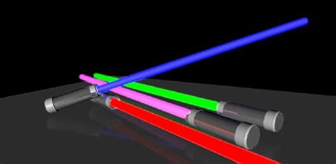 Lightsaber Papercraft - wars size lightsaber free paper model