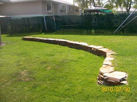 25 best ideas about backyard retaining walls on