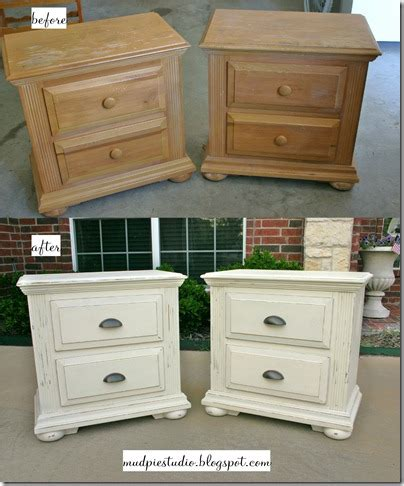 mud pie studio furniture makeover with chalk paint