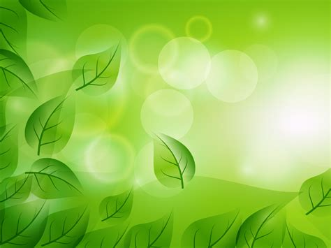 Abstraction Leaf Cuts Powerpoint Templates Abstract Green Free Ppt Backgrounds And Templates Powerpoint Themes And Templates 2